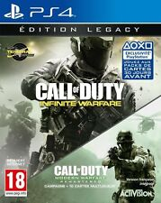 CALL OF DUTY INFINITE WARFARE EDITION LEGACY JEU PS4 NEUF