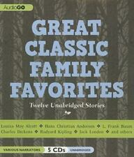 Great Classic Family Favorites : Unabridged Stories (2011, CD)