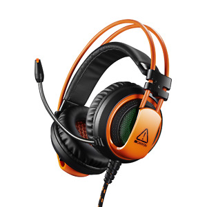 Canyon Stereo Gaming Headset Corax CND-SGHS5 LED Light Memory Foam 3.5mm and USB
