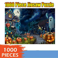 1000 Pieces Halloween Ghost Jigsaw Puzzle Adult Kid Home Educational Toy Game
