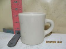 VICTOR INSULATOR COMPANY MUG - 8 OUNCE WHITEWARE - NO DAMAGE!