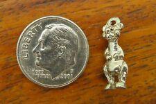 Baloo Bear Jungle Book charm Vintage silver Walt Disney World Disneyland