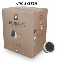100 CAPSULE LOLLO CAFFE MISCELA NERA COMPATIBILI UNO SYSTEM