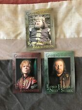 3 2012 Game of Thrones cards #33, #45, #55 NM condition