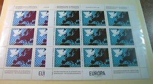 Foreign Souvenir Sheets Yugoslavia Scott# 1341-1342 Europa 1977 MNH H121