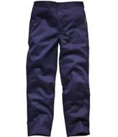 DICKIES Proban Workwear Trousers in Navy Blue