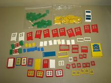 VINTAGE LEGO LOT  WINDOWS & DOORS shutters lattice etc