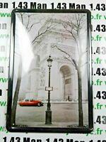 PA111F PLAQUE TOLEE 20 X 30 cm : ARC DE TRIOMPHE CITROEN DS21 Paris