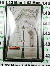 PB107 PLAQUE TOLEE 20 X 30 cm : ARC DE TRIOMPHE CITROEN DS21 Paris