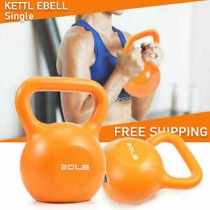 20LB Kettlebell Kettlebells Weight Weight Exercise Home Gym Rack Stand Workout
