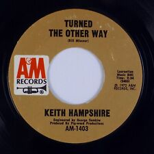 Keith Hampshire: Turned The Other Way / Daytime Night-Time A&M Pop Rock 45