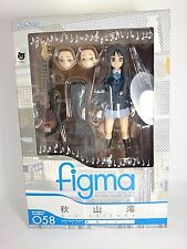 "K-ON Mio Akiyama 5"" Figma Authentic Max Factory Japan k#16687"