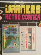 Spectrum Zx Sinclair Park Patrol Retro Game Boxed