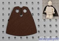 LEGO - Minifigure Cloth Cape Dark Brown - Custom Fabric Robe Harry Potter Jedi