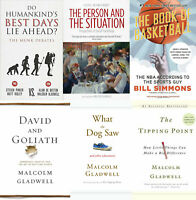 Malcolm Gladwell Kit - Outliers + Dog Saw + Tipping Point 8 Set [P.DF & e.Pub]🔥