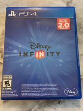 Disney Infinity 2.0 PS4 Game + 4 Character Cards No Figures No Base Game CIB