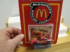 RACING CHAMPIONS,NASCAR,McDONALD'S RACING TEAM'S RED RACER,NEW IN UNOPENED PACK