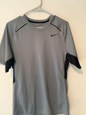 Mens | Small | Nike Dri Fit | Running | Short Sleeve Shirt | Gray