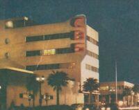c1940s Vintage Postcard CBS Studio Los Angeles Sunset Blvd LA California CA