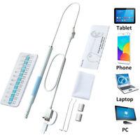 Digital 3 in 1 USB Ear Cleaner Endoscope Otoscope Earpick Curette Remover Set US