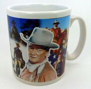 ~ John Wayne Tribute Collage Mug(C) ~  Ceramic Mug