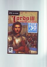 LORDS OF THE REALM III 3 THE - PC GAME - FAST POST - ORIGINAL & COMPLETE - VGC