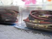 18 Goody With Metal Hair Band Elastics 2005 Ponytail Holders Old Style Shiny