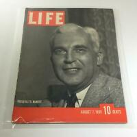 Vintage Life Magazine: August 7 1939 - Roosevelt's McNutt