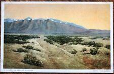 1930 Arizona Postcard: Arizona Desert, AZ - Copyright Fred Harvey, Detroit Pub.