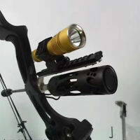 Compound bow Barrel Mount Holder for Laser sight & Flashlight Torch Night Hunter