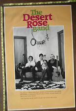 """Desert Rose Band,23""""x34"""",Poster,Very Rare Original,Record company"""
