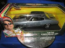 CHASE John Force 1970 Chevelle ERTL American muscle raw polished 1/18 70 chevy