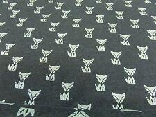 """Tela Para Niños"""" Fox """" Sweat 140 cm de ancho Mezcla De Algodón Multicolor"""