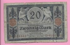 20 MARK 1915