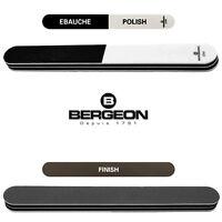 Cabron à aviver Bergeon 2290 3 abrasifs différents dans 1 bâtonnet souple !