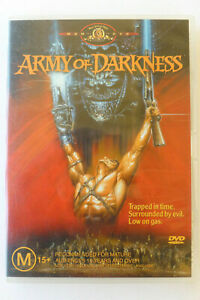 Army Of Darkness Rare DVD -Bruce Campbell Horror Comedy Movie - Free Post
