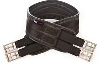 HyCOMFORT Waffle Girth elasticated both ends black or brown horse/pony
