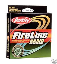 Berkley Fireline Braid 0,14mm trenzado era 110m (0,27 €/m)