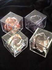 Beautiful Handmade Origami Kawasaki Rose Inside Acrylic Box