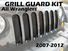 PROTECTIVE GRILL INSERT KIT all Jeep Wrangler JK 2007 2008 2009 2010 2011 2012+