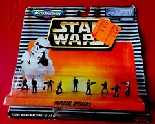 Star Wars Micro Machines IMPERIAL OFFICERS Galoob 1996 NEW ON CARD