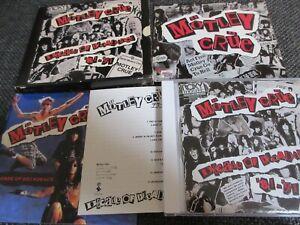 MOTLEY CRUE / Decade of Decadence /JAPAN LTD CD slipcase, book, sticker