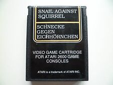 ATARI 2600 Game Snail Against Squirrel Tested