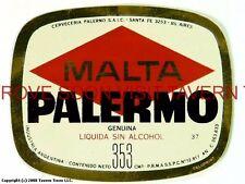 Scarce Cerveza Malta Palermo 353ml Argentina Tavern Trove