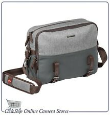 Manfrotto Windsor Lifestyle Camera Reporter DSLR Bag (Gray) Mfr # MB LF-WN-RP