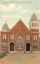 Cambridge Ohio Methodist Protestant Church Antique Postcard K41292