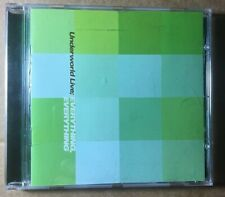 UNDERWORLD Everything Everything Promotional CD