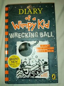 Diary Of A Wimpy Kid Wrecking Ball Book 14 Jeff Kinney Hardback (F7)