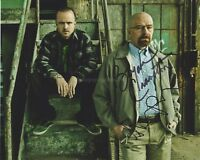 Bryan Cranston & Aaron Paul HAND Signed 8x10 Photo, Autograph, Breaking Bad