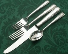 Candlelight by Towle Sterling Silver 4 DINNER SIZE Setting, french blade knife